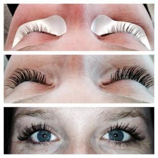 Real Hair Eyelash Extensions